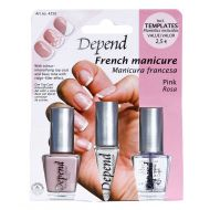 Depend French manicure kit pink