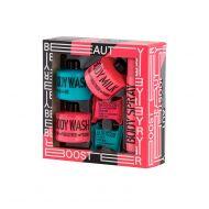 Mades Stackable Set Wash/Fizzer/Spray  Pink/Blue
