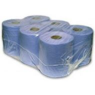 Centrefeed blue roll 6pk